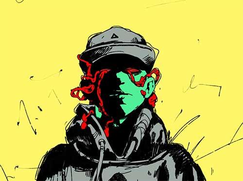 Титульный альбом украинского рэпа 2016. Денні Дельта — При5. Рецензия.